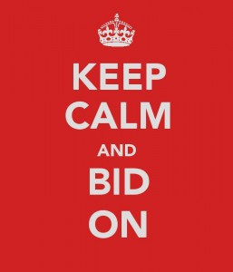 Keep Calm and Bid On