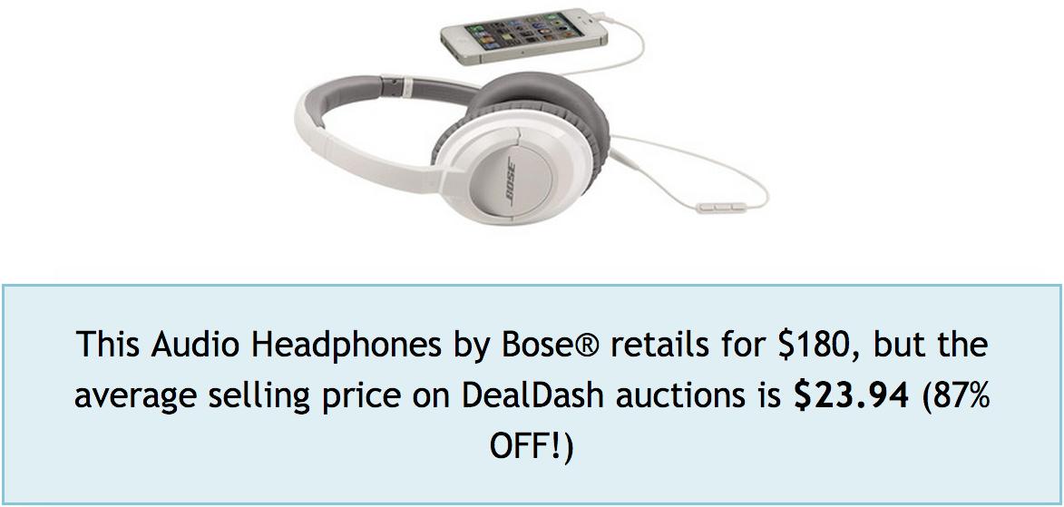 DealDash Auction