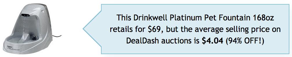 Won on DealDash.com
