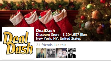 DealDash Facebook Page