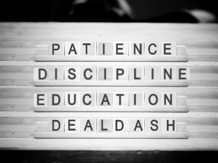 Patience Discipline Education DealDash