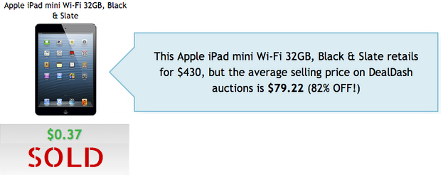 Apple iPad Sale DealDash
